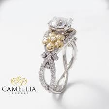 alternative engagement rings handmade ring floral engagement ring alternative