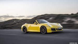 porsche 911 convertible 2018 2018 porsche 911 carrera 4 gts cabrio color racing yellow