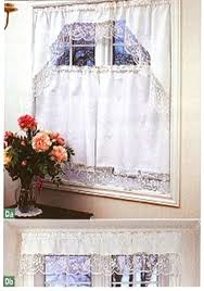 Lace Cafe Curtains Tuscany Lace Café Curtains And Valances The Lace And Linens Co