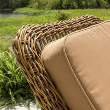 Resin Wicker Patio Dining Sets - everglades honey resin wicker patio dining chair by lakeview