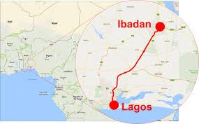 World Map Lagos by China Finances Us 1 5 Billion For 156km Lagos To Ibadan Rail Link