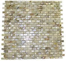 south sea pearls mini brick pattern glass tile shop glass tiles