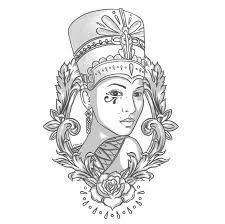 best 25 nefertiti tattoo ideas on pinterest egyptian tattoo