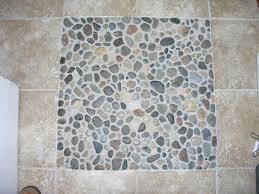 river rock tile