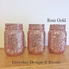 gold mason jar centerpiece baby shower ideas baby shower
