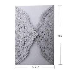 wedding invitations lace lace wedding invitations ebay