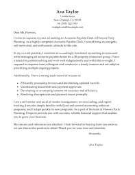 ideas collection sample accounts payable supervisor cover letter