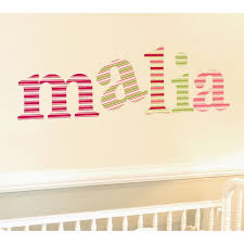 horizontal stripe stencil letters baby name letter stencils and