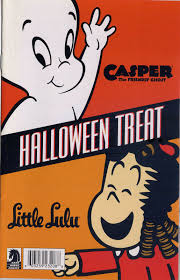 Vintage Halloween Books by Fun Ideas Harvey Halloween Comic Book Giveaways