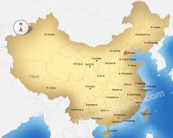 Map Of China And Japan by China Thinglink
