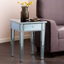 mirrored accent table beautiful tiny accent table with flowers