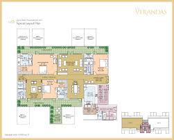 salcon group the verandas gurgaon layouts floor plans