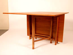 Folding Table With Chair Storage Bedroom Divine Wood Custom Folding Table Cherry Dining Gateleg