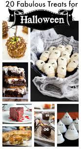 20 fabulous treats for halloween erren u0027s kitchen