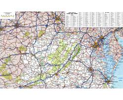 map usa virginia state maps of west virginia state collection of detailed maps of west