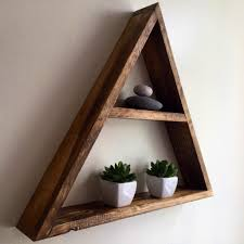 Wooden Wall Shelves Decorate The Wall To Make It More Interesting By Placing Some