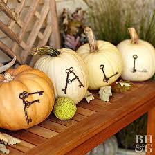 pumpkin decoration use junk to create unique pumpkins