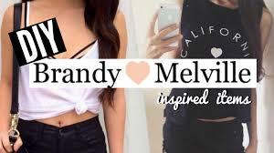 diy brandy melville inspired items shirt bralette u0026 signs