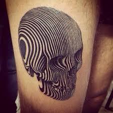 más de 25 ideas únicas sobre tatuajes de calavera en pinterest
