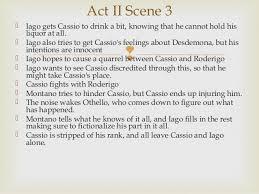 themes in othello act 1 scene 3 othello act ii notes