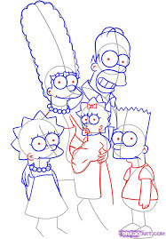 how to draw the simpsons step by step cartoons cartoons draw