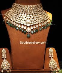 diamond sets design diamond necklace and jhumkas by tibarumal jewels jewellery designs