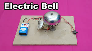 how to make a simple electric bell at home easy tutorials youtube