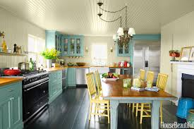 use light shades for a bright and open look entrancing kitchen