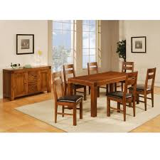 Dining Table And Six Chairs 6 Wooden Chairs Extending Dining Table And 6 Wooden Chairs Design