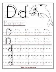 printable letter d tracing worksheets for preschool printable