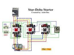 charming wiring diagram star delta starter pictures wiring