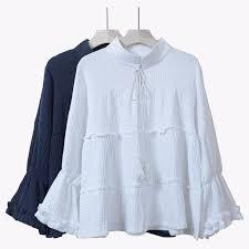 linen blouses 2018 2016 fashion plus size blouses linen cotton