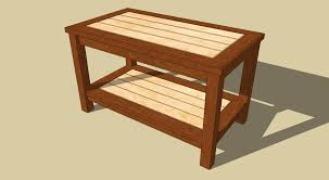 20 best collection of free woodworking plans coffee table