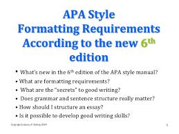 apa format directions 6th ed apa style manual