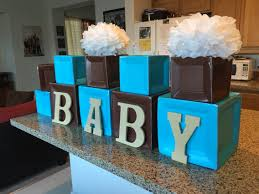 teddy centerpieces for baby shower blocks made out of paper plates that i bought from party city