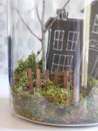 miniature halloween ornaments how to make a haunted terrarium for halloween hgtv