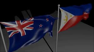 Flag Philippines Picture New Zealand And Philippines Flags In Blender Youtube