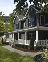 the best way to add curb appeal to any home dark colors for