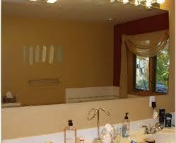 Above Vanity Lighting Bathroom Appealing Bathroom Mirrors With Lights Above