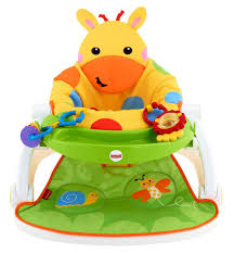 Chair For Baby To Sit Up Fisher Price Sit Me Up Floor Seat With Tray Giraffe Toys