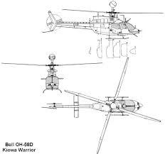 bell oh 58d kiowa warrior blueprint download free blueprint for