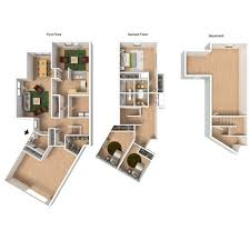 3 Bedroom Floor Plans 3 Bed 2 5 Bath Apartment In Wainwright Ak North Haven
