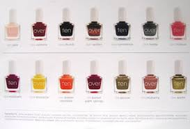 tenoverten nail polishes let your fingers do the walking u2013 tinsel