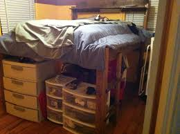 How To Build A Twin Platform Bed With Storage Underneath by Loft Bed 8 Steps With Pictures