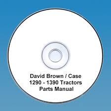 david brown case 1290 u0026 1390 tractors parts manual pdf cd