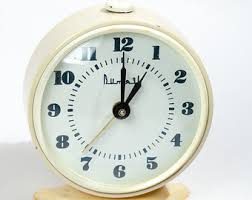 Vintage Home Decor Nz Russian Alarm Clock Etsy