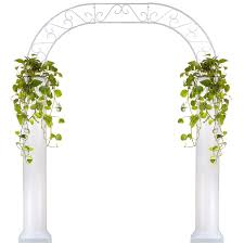 wedding arches and columns wholesale wedding arch with two 6 foot columns events wholesale