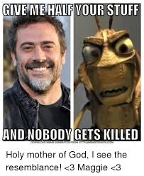 Holy Mother Of God Meme - give me half your stuff and nobody gets killed holy mother of god i