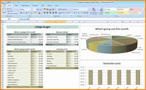 Monthly Personal Budget Spreadsheet by Budget Reporting Template Thebridgesummit Co