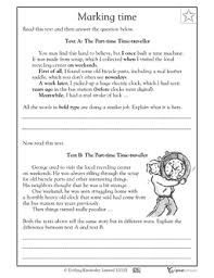 free reading writing worksheet set for 2nd 3rd graders your child